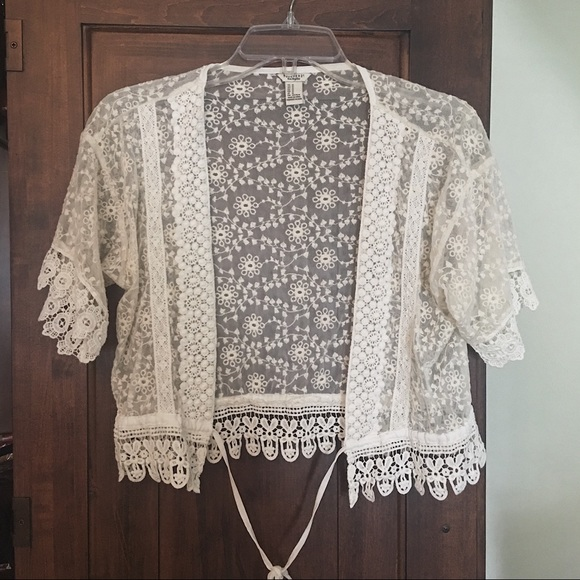 Forever 21 Sweaters - Forever 21 Lace Cardigan